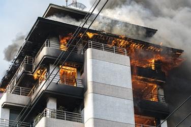 Odstraněni zápachu po požáru ozonem